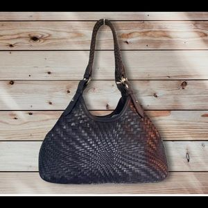 Cole Haan Genevieve Weave Small Triangle Tote